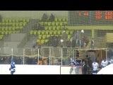 Танцы на хоккее))))